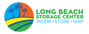 Long beach storage logo